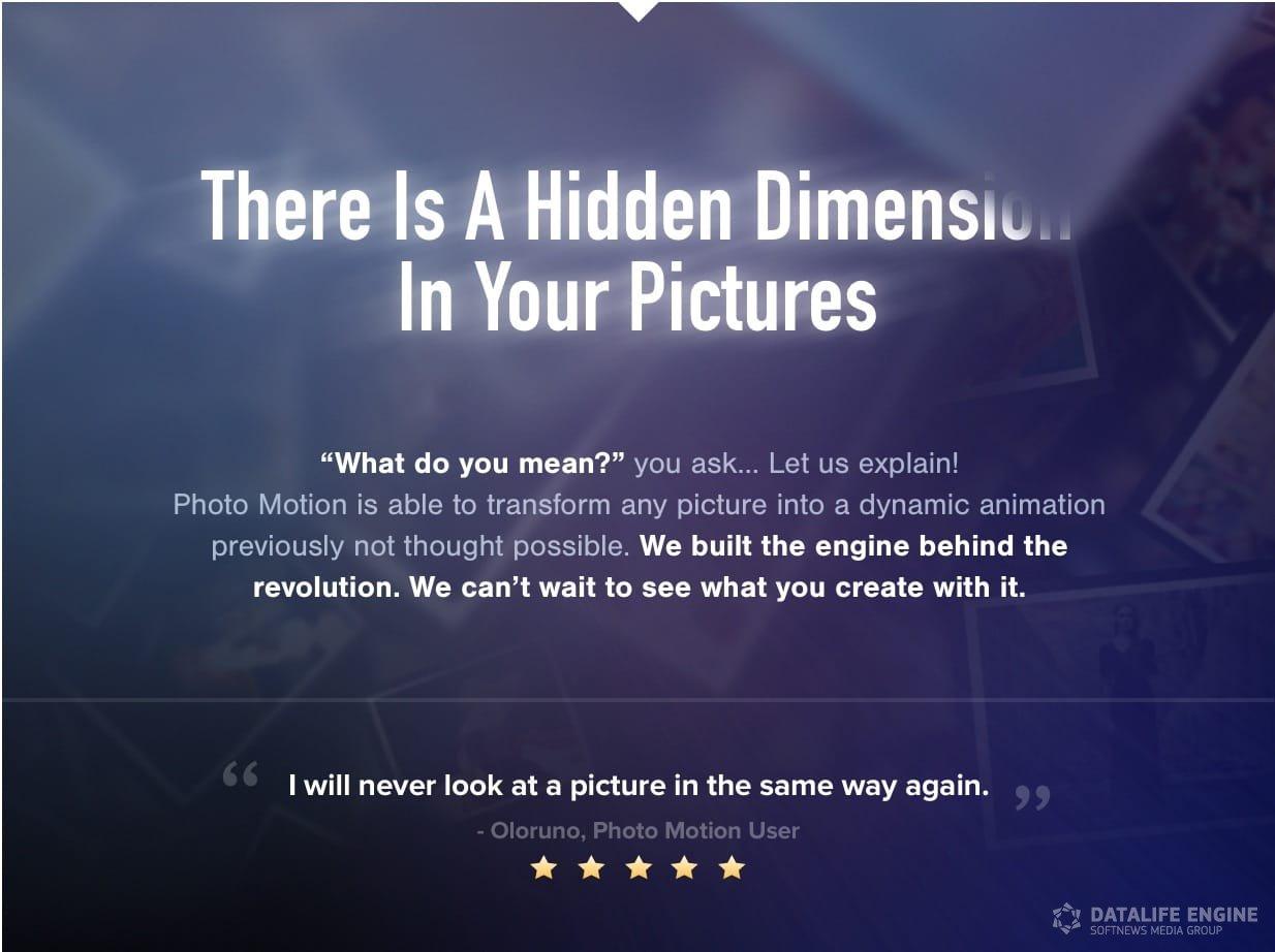 Videohive Photo Motion Pro Professional 3d Photo Animator 13922688 Sharevfx