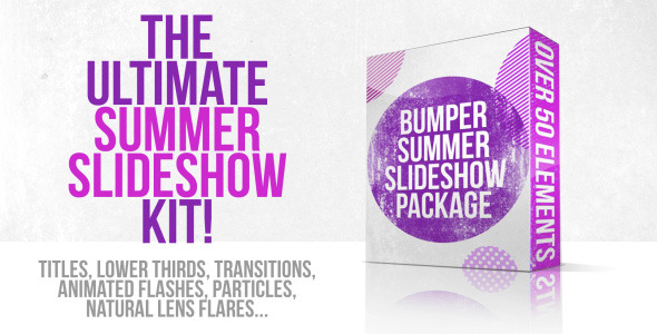 Videohive Bumper Summer Slideshow Package 5337824