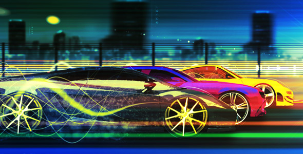 Videohive Race Machine 165047