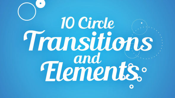 Videohive Circle Transitions and Elements 14529760
