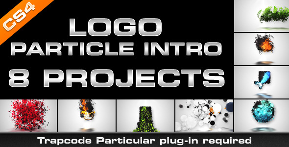 Videohive Logo Particle Intro (8in1) 3254938
