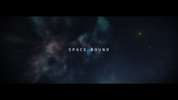 Videohive Space Bound Titles 12774024