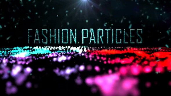 MotionElements Fashion Particles 6010223