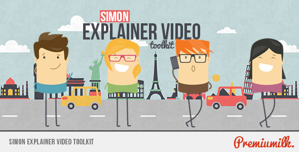 Videohive Simon Explainer Video Toolkit 8954003