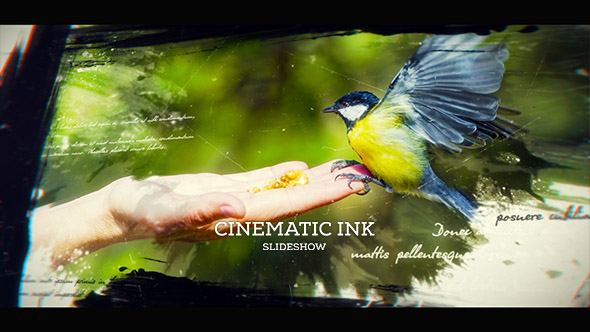 Videohive Ink Slideshow 19704339