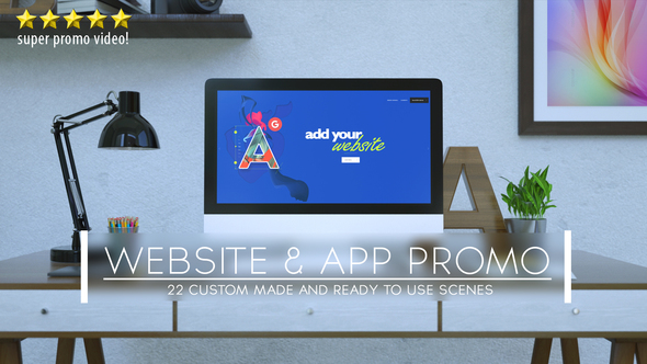Videohive Website and App Promo 20789107
