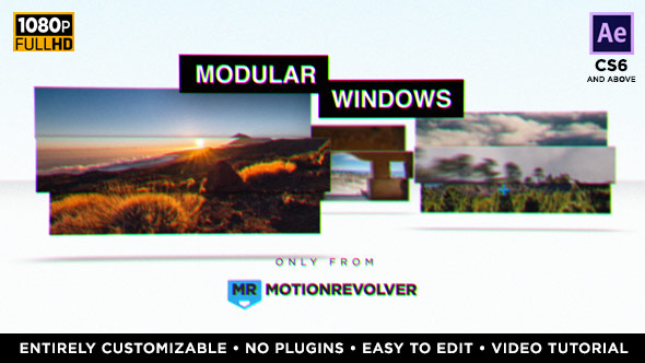 Videohive Modular Windows Slideshow Presentation 19758265