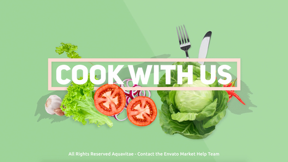 Videohive Cook With Us - Cooking TV Show Package 16486174