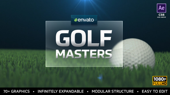 Videohive Golf Masters Graphics Package 21663633