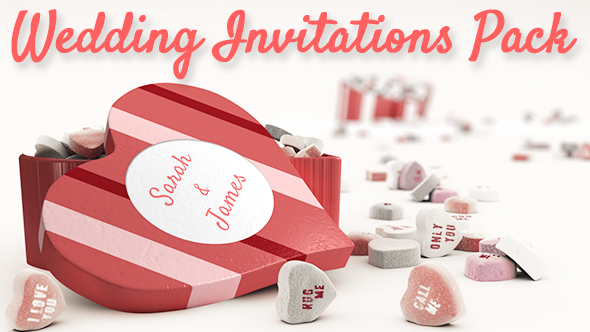 Videohive Wedding Invitations Pack 19402648