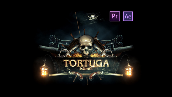 Videohive Epic Pirate Logo 21812186