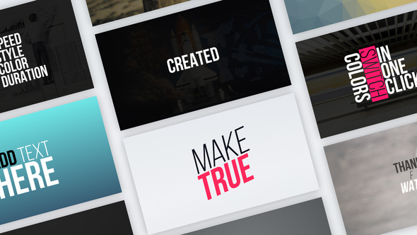 Videohive Typography Vol.1 21745449