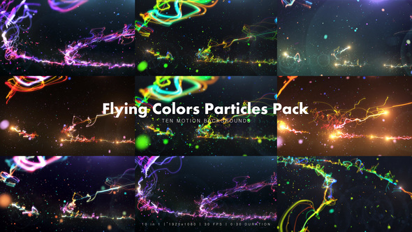 Videohive Flying Colors Pack 12937285