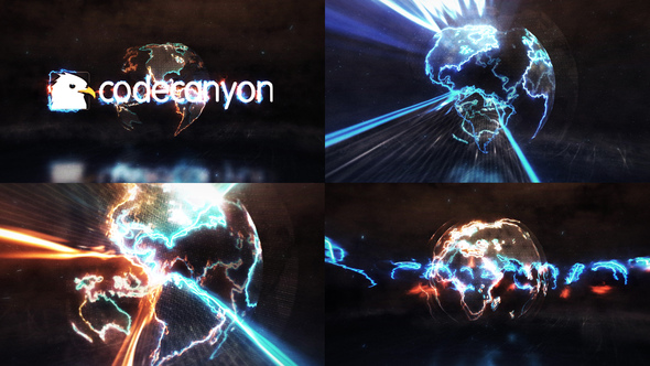 Videohive Energy Earth Logo Reveal 22094377