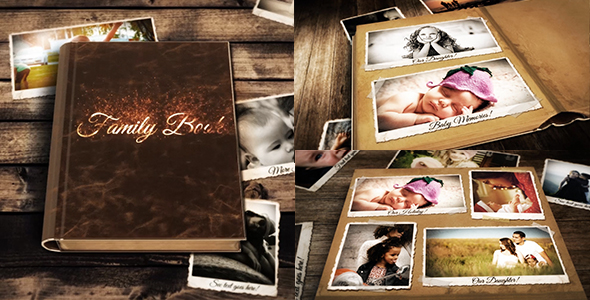 Videohive Family Book 19686245