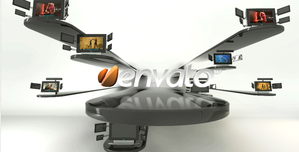 Videohive Video Displays in Motion! 237213