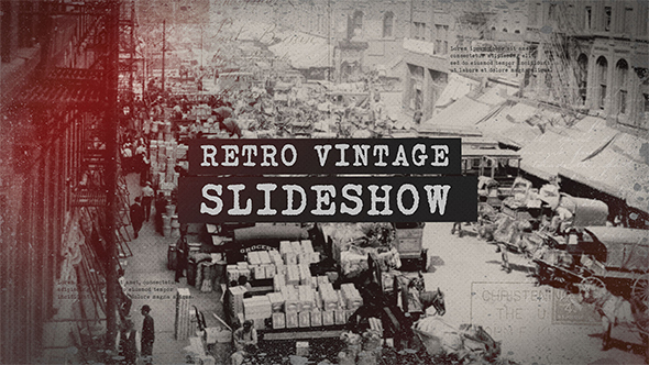 Videohive Retro Vintage Slideshow 20935728