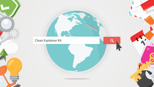 Videohive Clean Explainer Kit 7940255