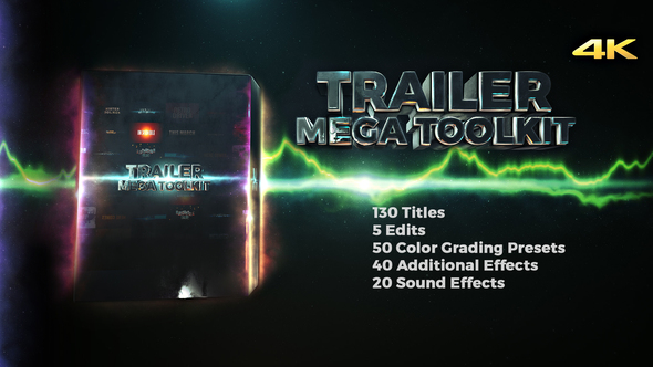 Videohive Trailer Mega Toolkit 21836910