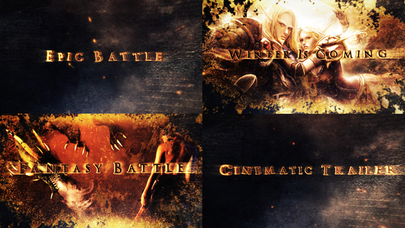 Videohive Legendary Epic Fantasy Intro 21964523