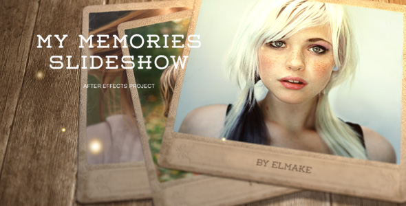 Videohive My Memories 17037594