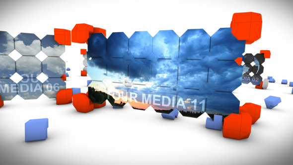 Videohive Crazy Metal Boxes 8943059
