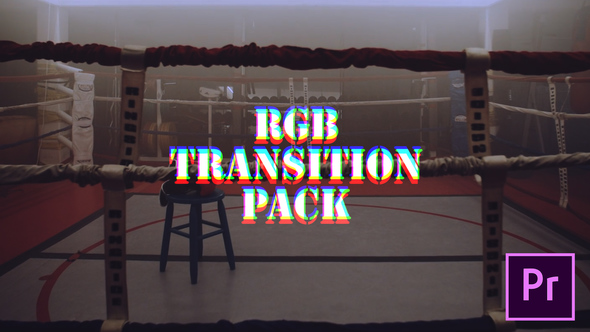 Videohive RGB Transitions Pack 21627787