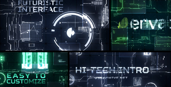 Videohive Hi-Tech Intro 17923283