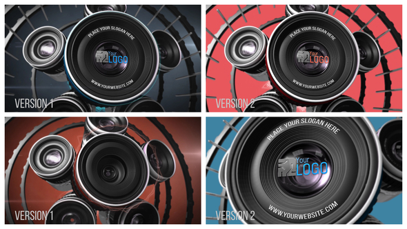 Videohive Photography Lens Logo 2 20764107
