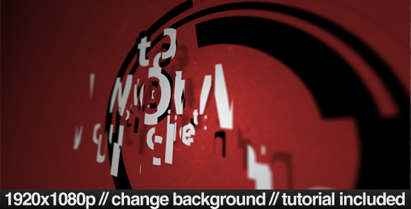 Videohive Red Scatter 132864