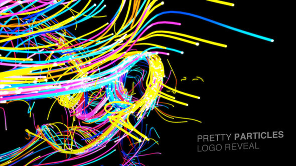 Videohive Pretty Particles Logo Reveal 6710461