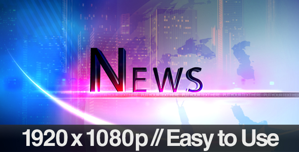 Videohive Television News Segment Bumpers 237768