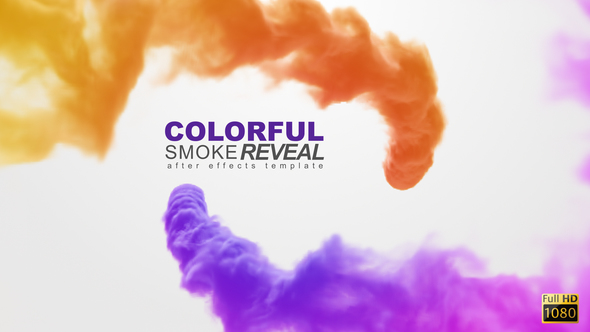 Videohive Colorful Smoke Reveal 8918826