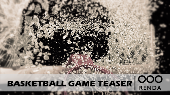Videohive Basketball Game Teaser 16509982