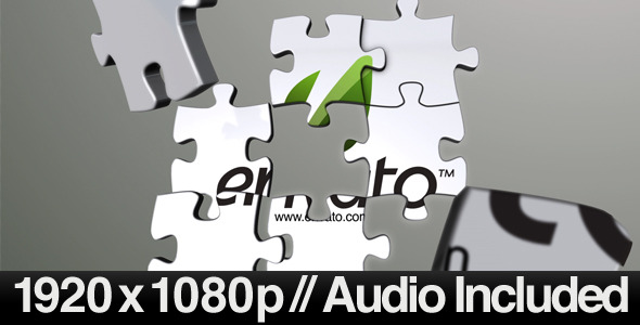 Videohive 3D Jigsaw Puzzle Revealer 410700