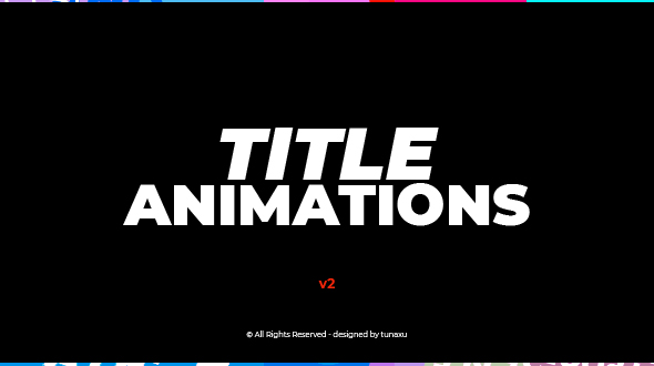Videohive Title Animations 12794729