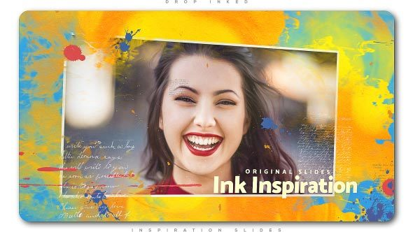 Videohive Drop Inked Inspiration Slides 21513776