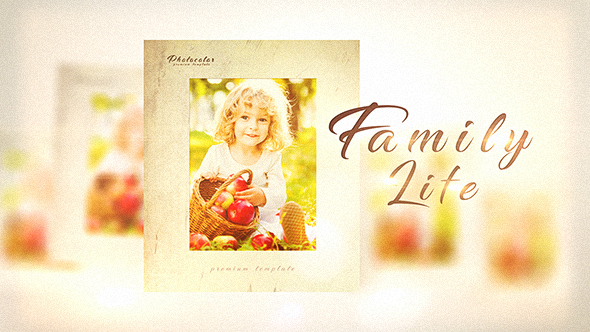 Videohive Family Life 20433267