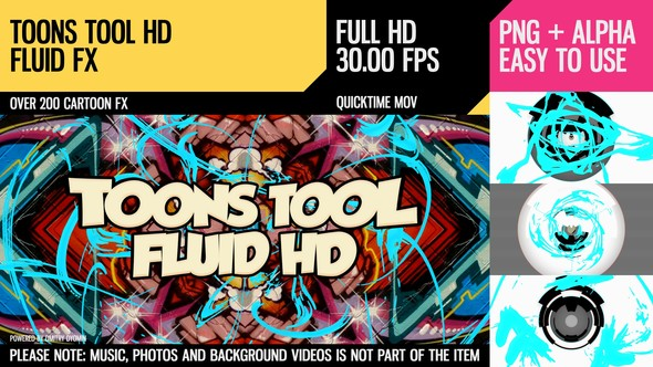 Videohive Toons Tool HD (Fluid FX) 21202477