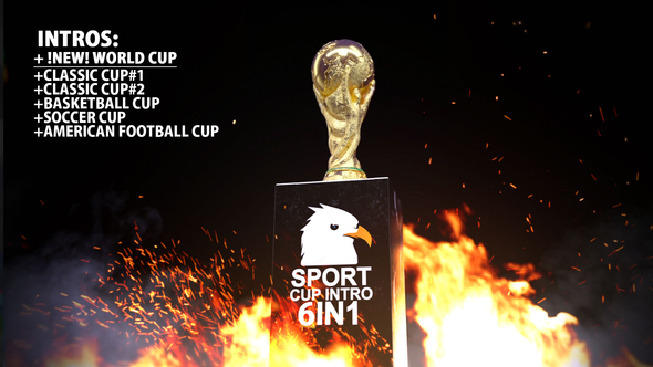Videohive Sport Cup Intro 21546843