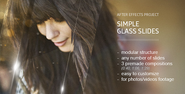 Videohive Glass Slides 10203591