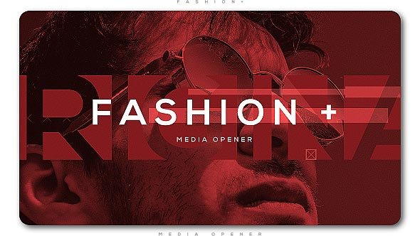 Videohive Fashion Plus Media Opener 20680196