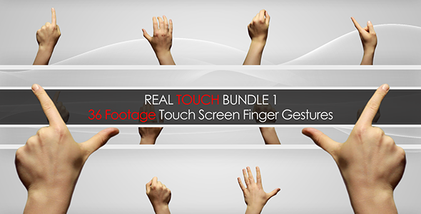Videohive Real Touch Bundle 1 4410523