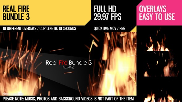 Videohive Real Fire Bundle 3 6788177