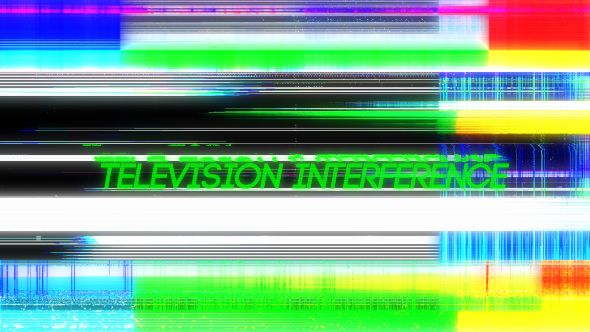 Videohive Television Interference 16 20170896