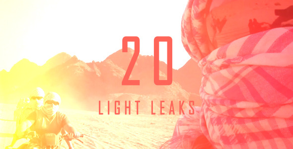 Videohive Light Leaks 3 5117811