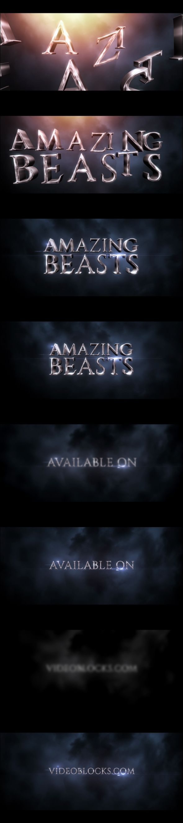 Amazing Beasts Harry Potter Lookalike Titles