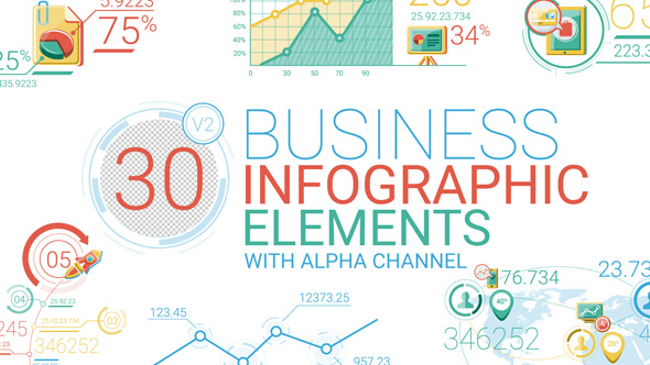 Videohive Business Infographic Elements 17164606
