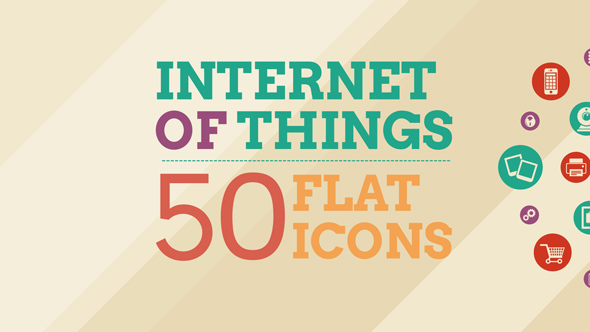Videohive Internet Of Things and Smart Home Icon Set 14450132