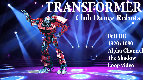 Videohive Club Dance Robots 21486519